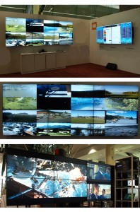 Various LED display configurations