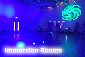 Immersion rooms for education
