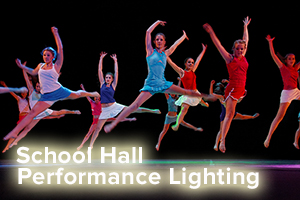 School Hall Stage Lighting