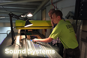 School Hall Sound System